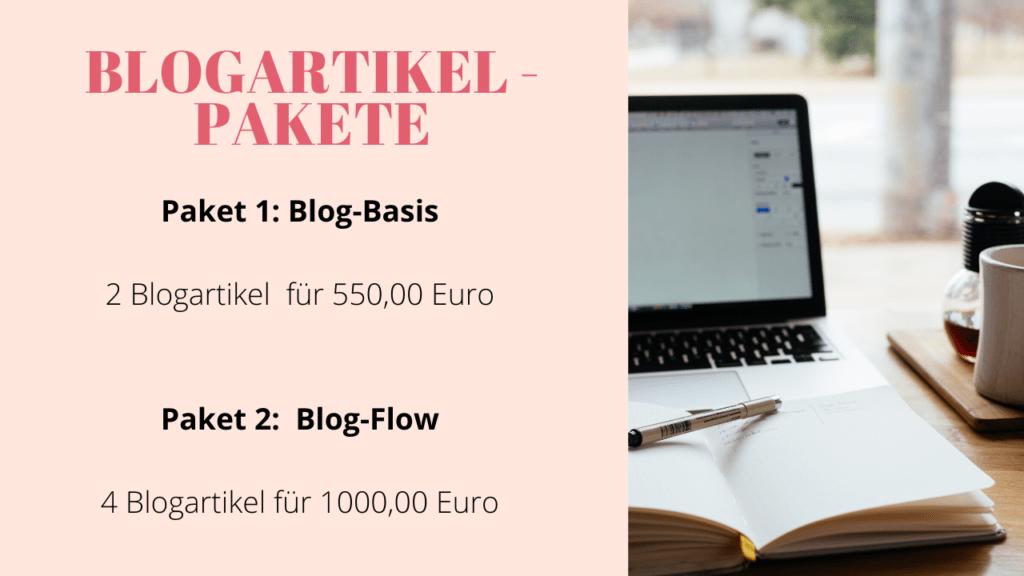 Blogartikel schreiben lassen - Pakete und Preise