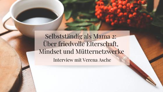 Selbstständig als Mama Interview
