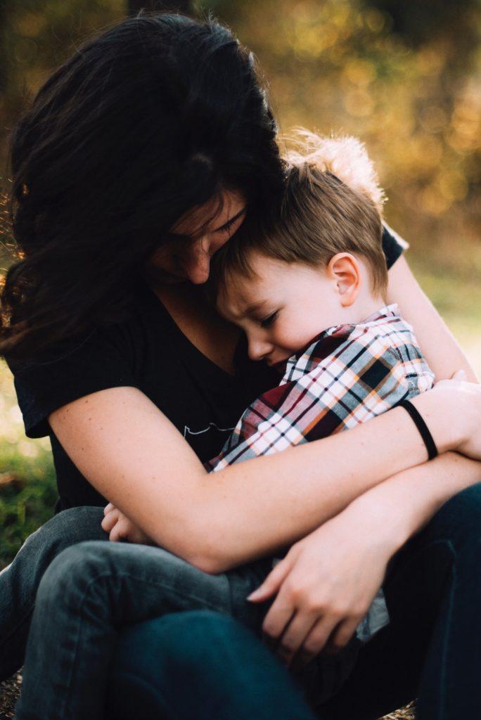 liebende und fürsorgliche Mama
