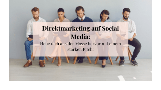Beitragsbild Direct Message Marketing über Social Media